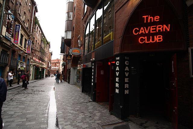 Mathew Street cavern club