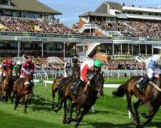 Rendez vous au Aintree Racecourse pour suivre une course de chevaux à Liverpool