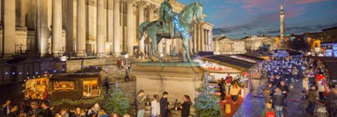 Découvrez les marchés de Noël de Liverpool