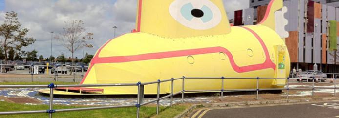 Le yellow submarine de Liverpool